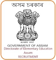 DEE ASSAM RECRUITMENT 2019, 230 PEON, Jr. ASSISTANT & DRIVER | JOB IN ASSAM