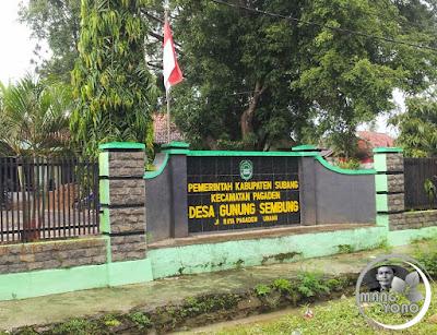 Kantor Desa Gunungsembung, Kecamatan Pagaden
