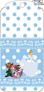 Cinderella Free Printable Tags.