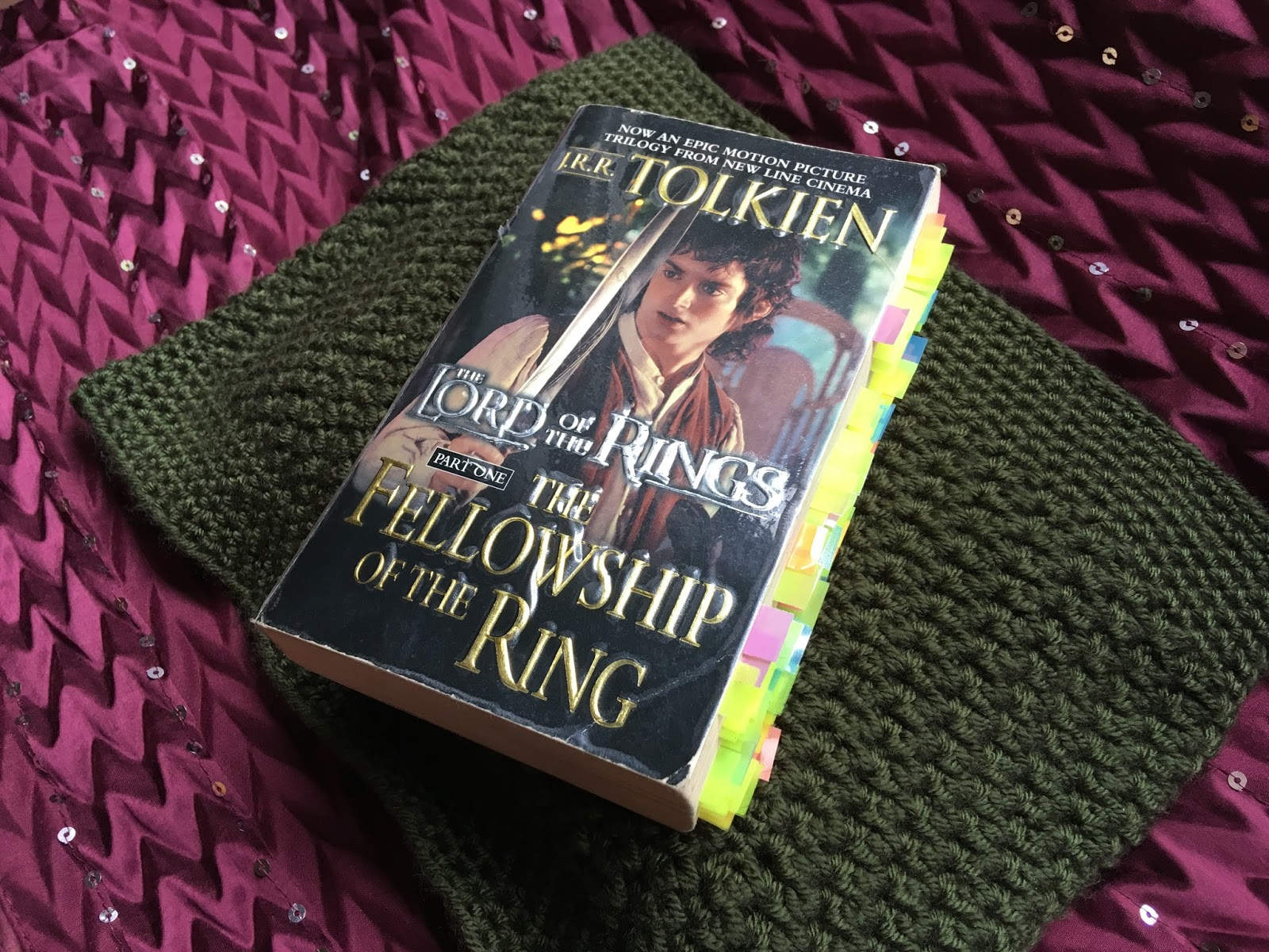 The Fellowship of the Ring by J.R.R. Tolkien Paperback | Lydia Sanders #TwistyMustacheReviews