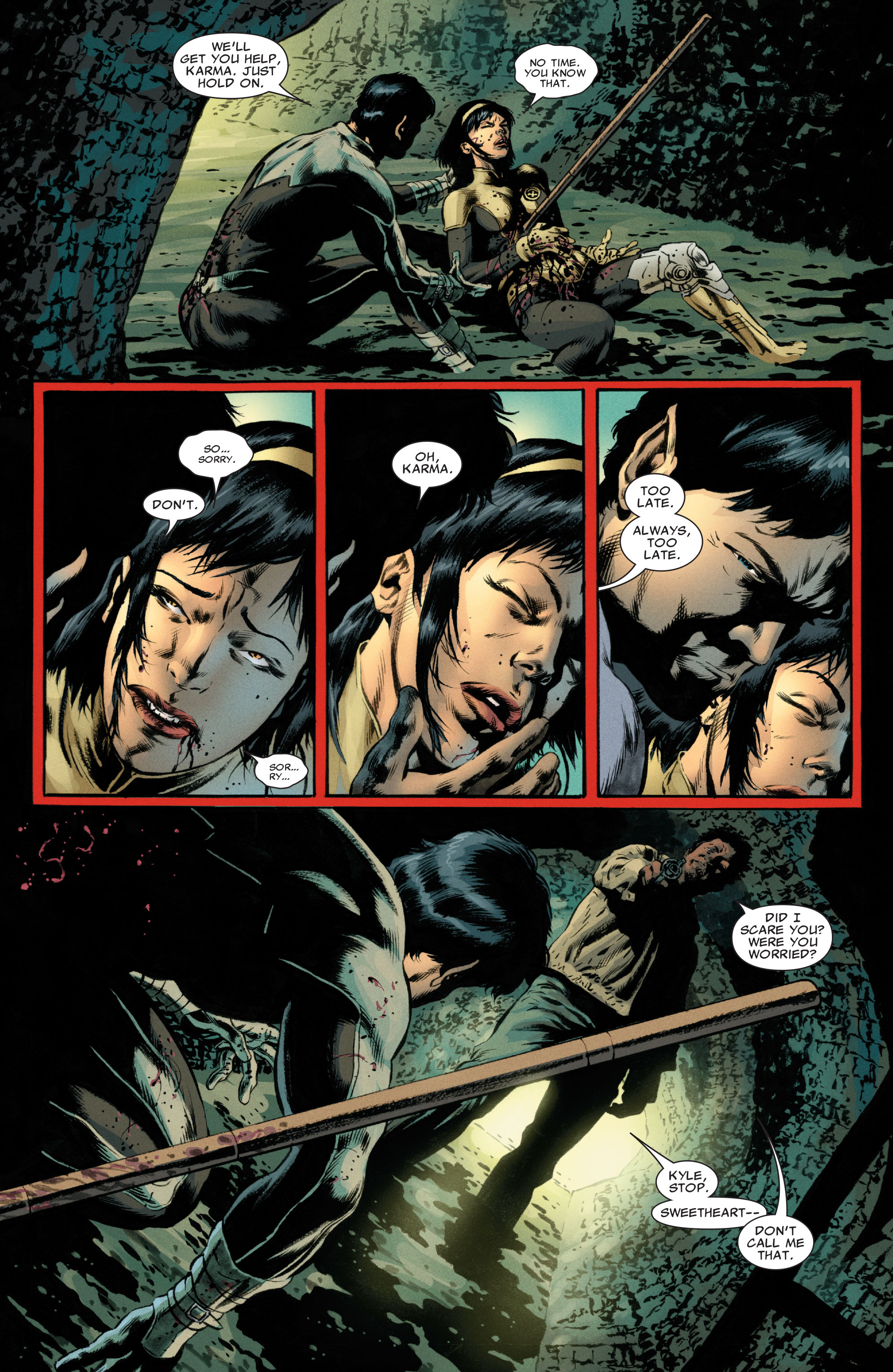 Read online Astonishing X-Men (2004) comic -  Issue #49 - 4