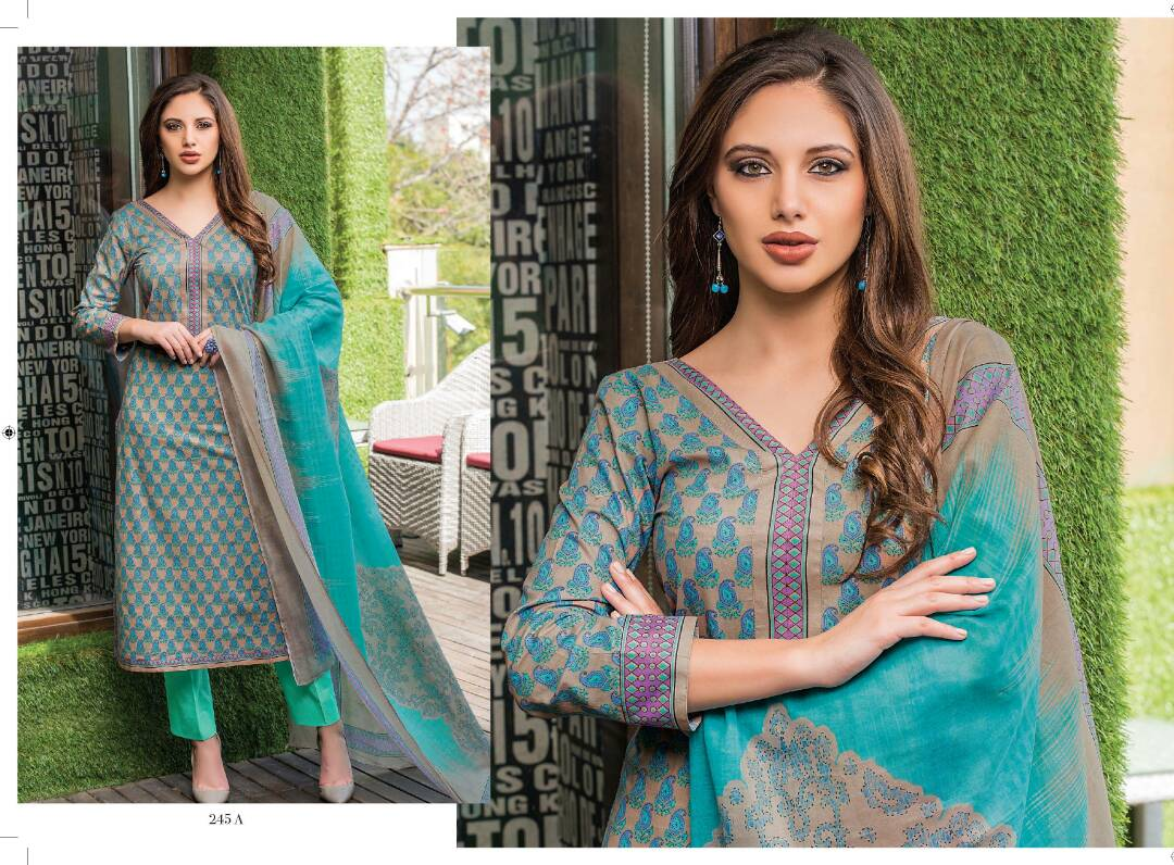 Mahira 3 – Latest New Stylish And Graceful Dress Material