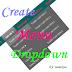 Hướng dẫn tạo menu ngang sổ dọc cho blogspot