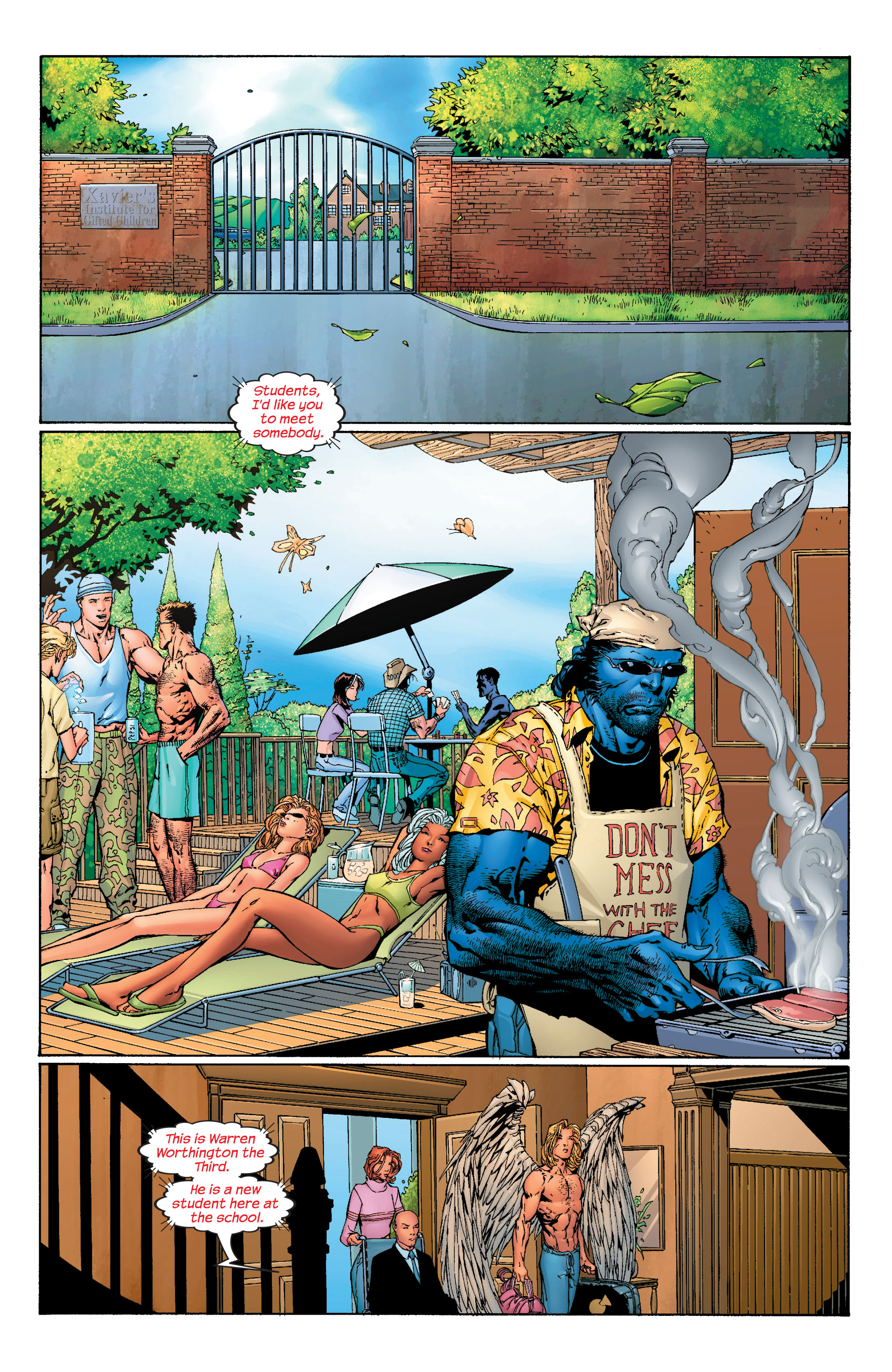 Read online Ultimate X-Men comic -  Issue #40 - 5