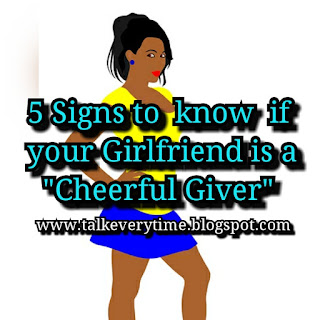 5 Signs that shows your Girlfriend is a