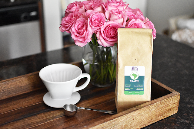 whole 30 coffee black coffee atlas coffee club pottery barn emma homegoods wooden tray cuisinart coffee maker pink flowers roses pour over coffee french press coffee cold brew coffee