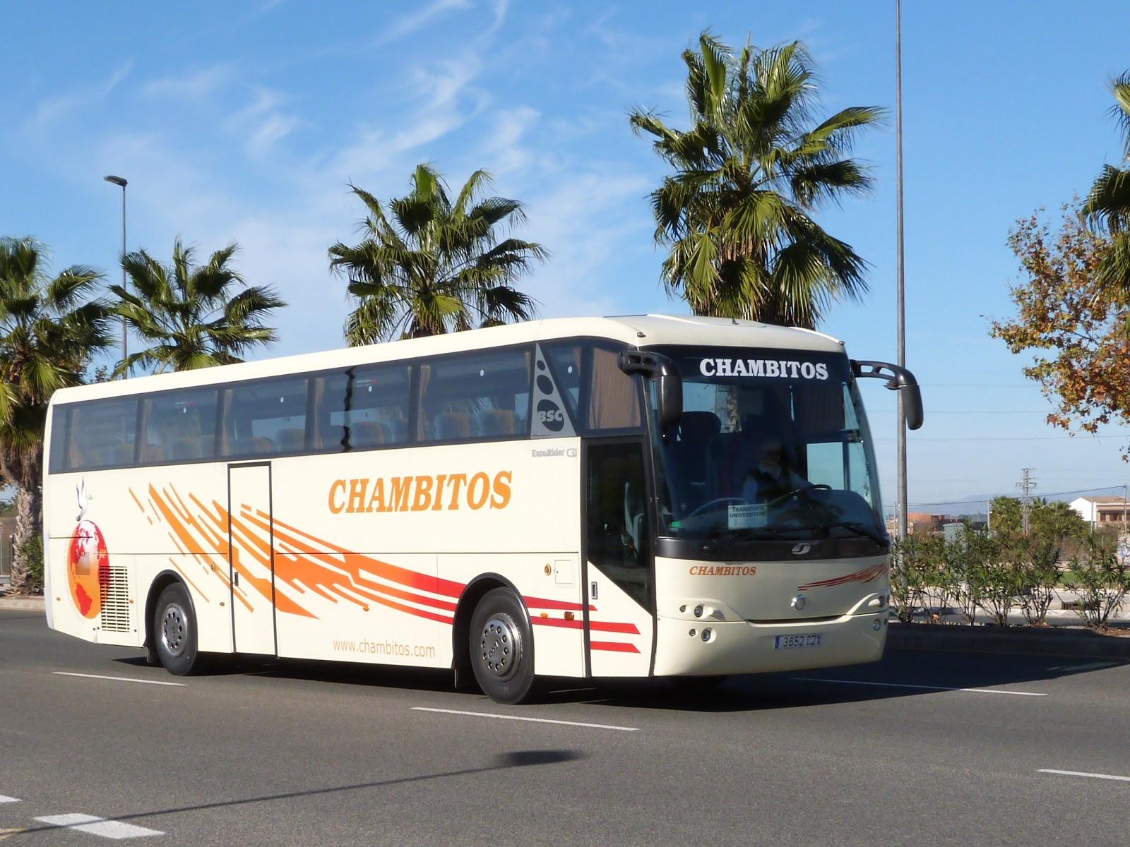 Resultado de imagen de autobuses chambitos