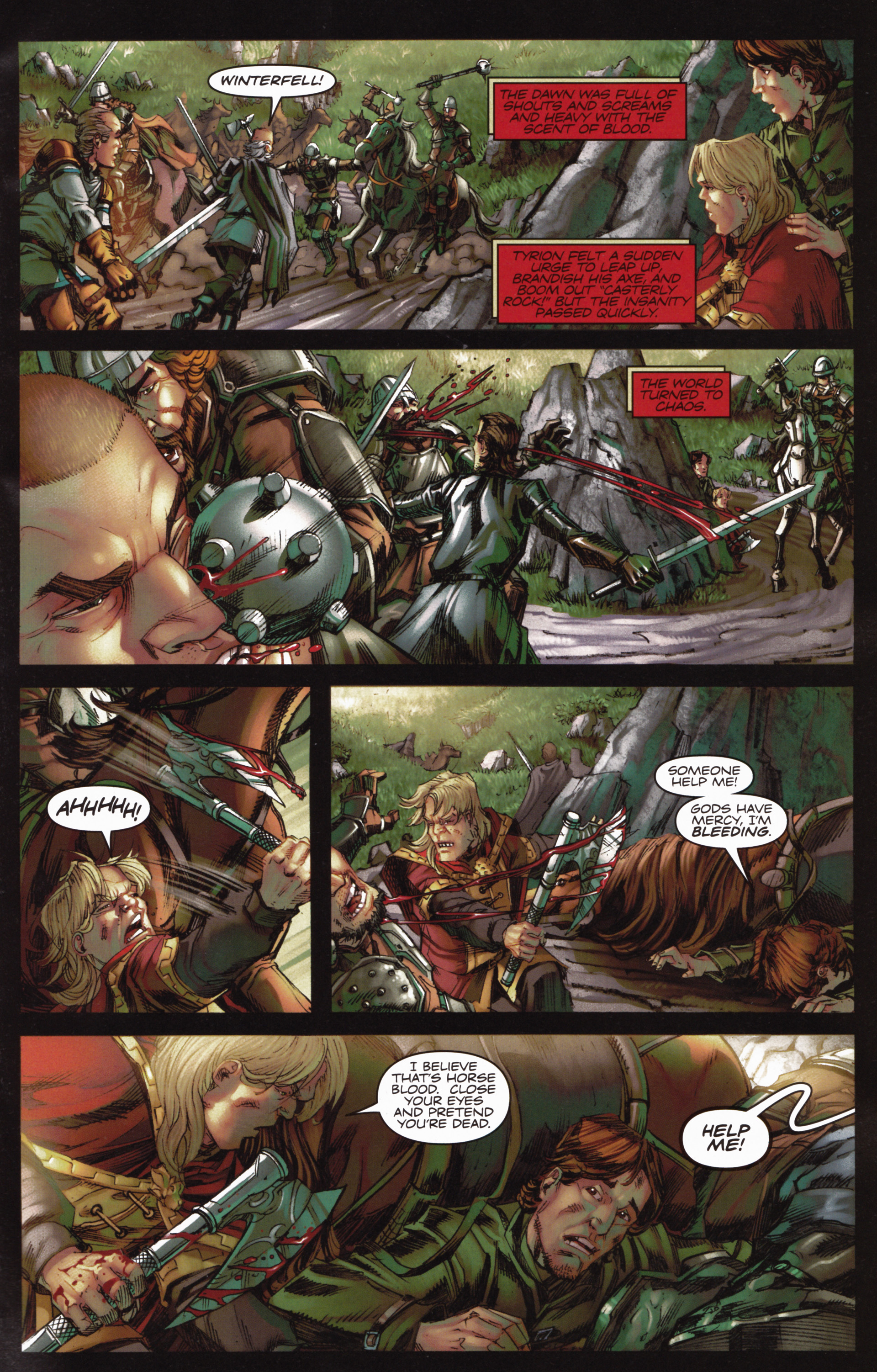 Read online A Game Of Thrones comic -  Issue #10 - 11