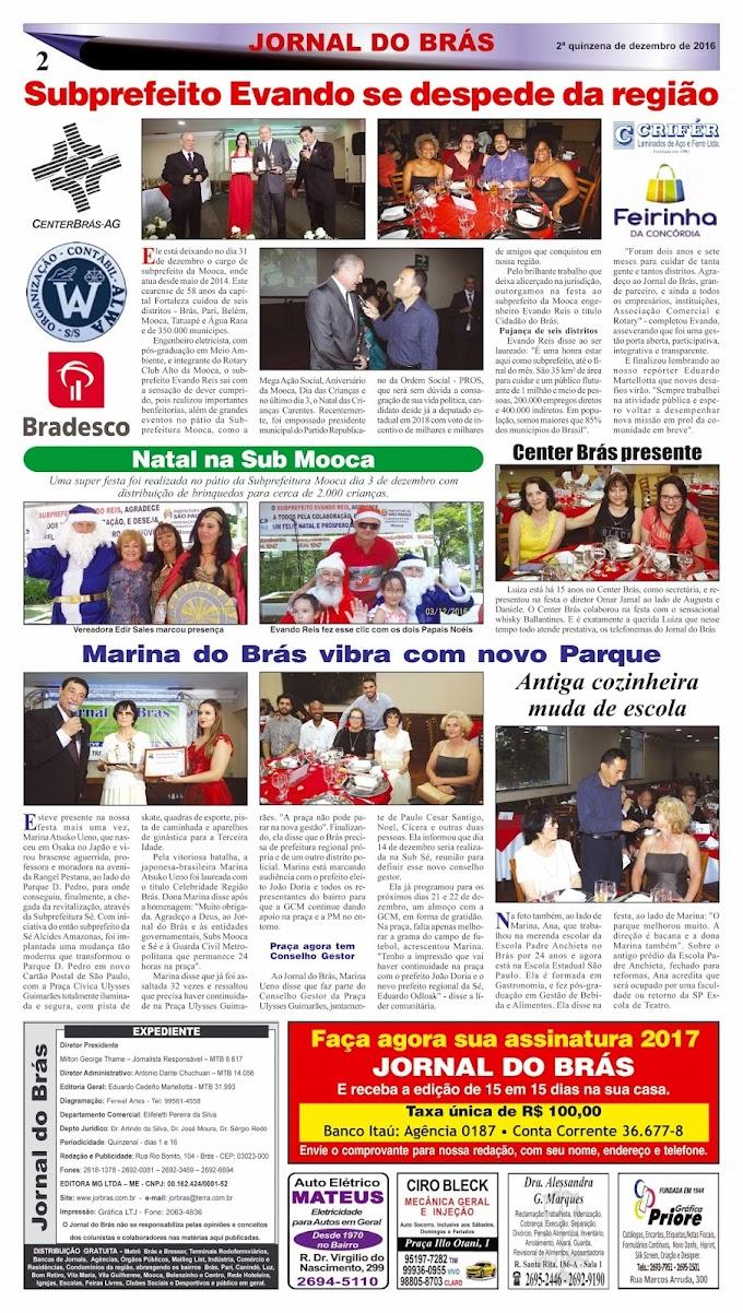 Destaques da Ed. 310 - Jornal do Brás