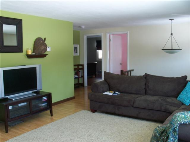 Always a Northerner: Paint - Accent Color Walls Living Room