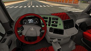 Mercedes Actros 2009 interior reworked