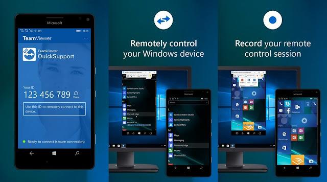Ứng dụng TeamViewer QuickSupport sắp tới cho phép bạn điều khiển thiết bị từ xa qua điện thoại
