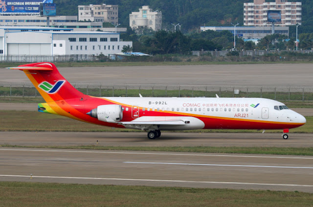 Image Attribute: ARJ21 is the first Chinese independently developed passenger jet /  Source: SinoDefence.com