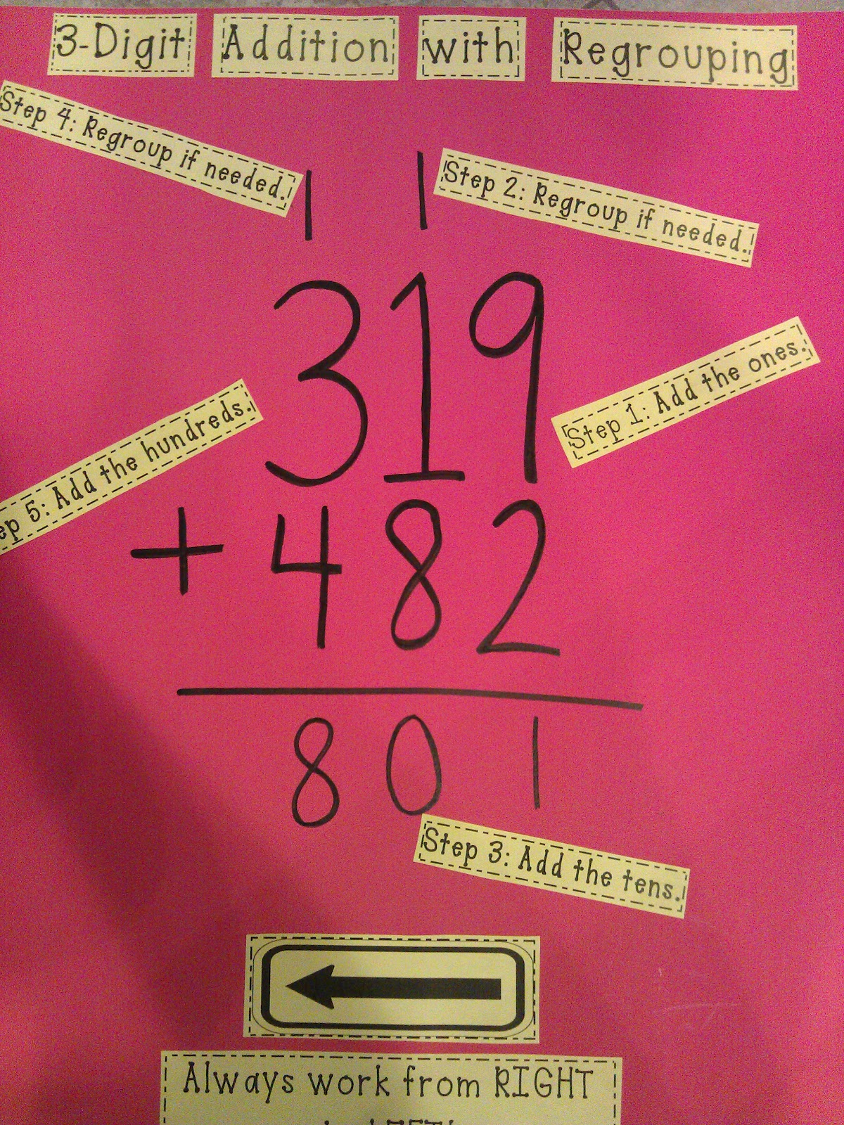 Cracker Jax States Of Matter 3 Digit Addition Proving Facts Annotating