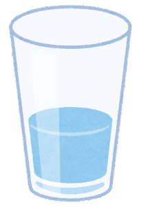 水のイラスト(少ない)