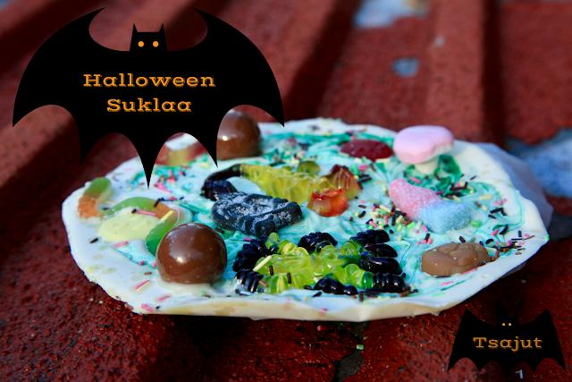 halloween suklaa lapsille