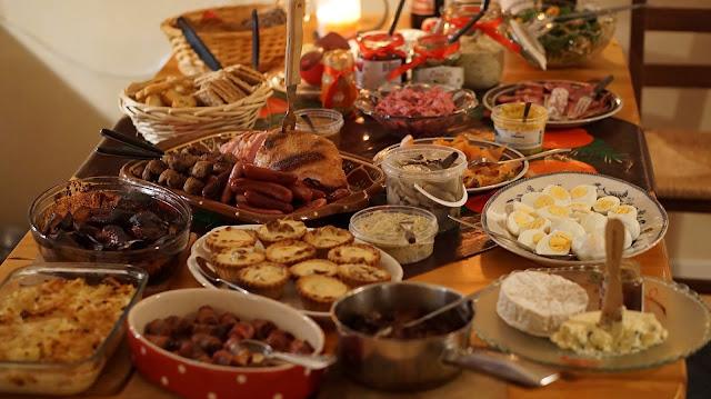 Riciclo avanzi cibo Natale