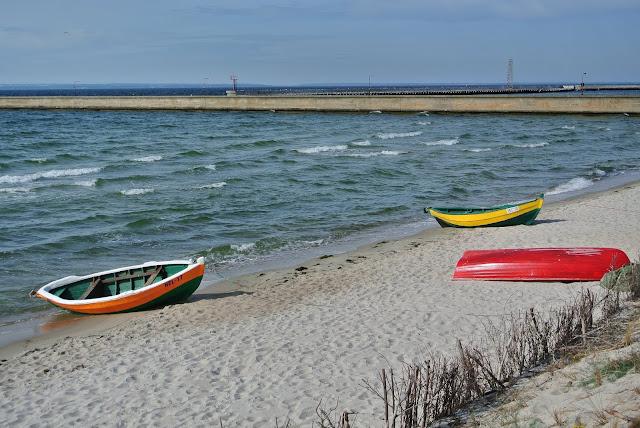 Hel poza sezonem, jak wyglądają plaże