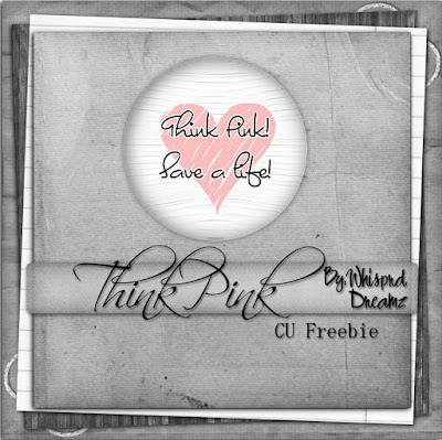 Think Pink CU Freebie