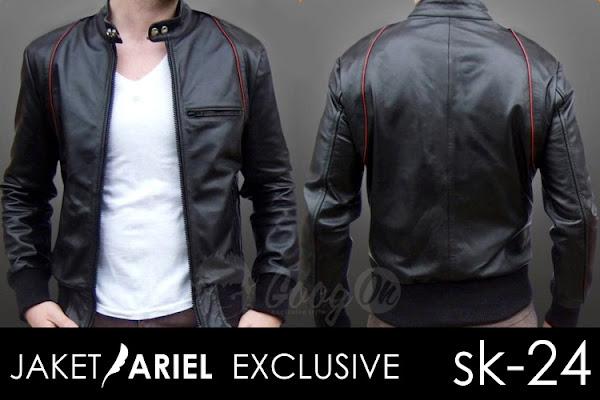 jas exclusive jaket kulit ariel noah