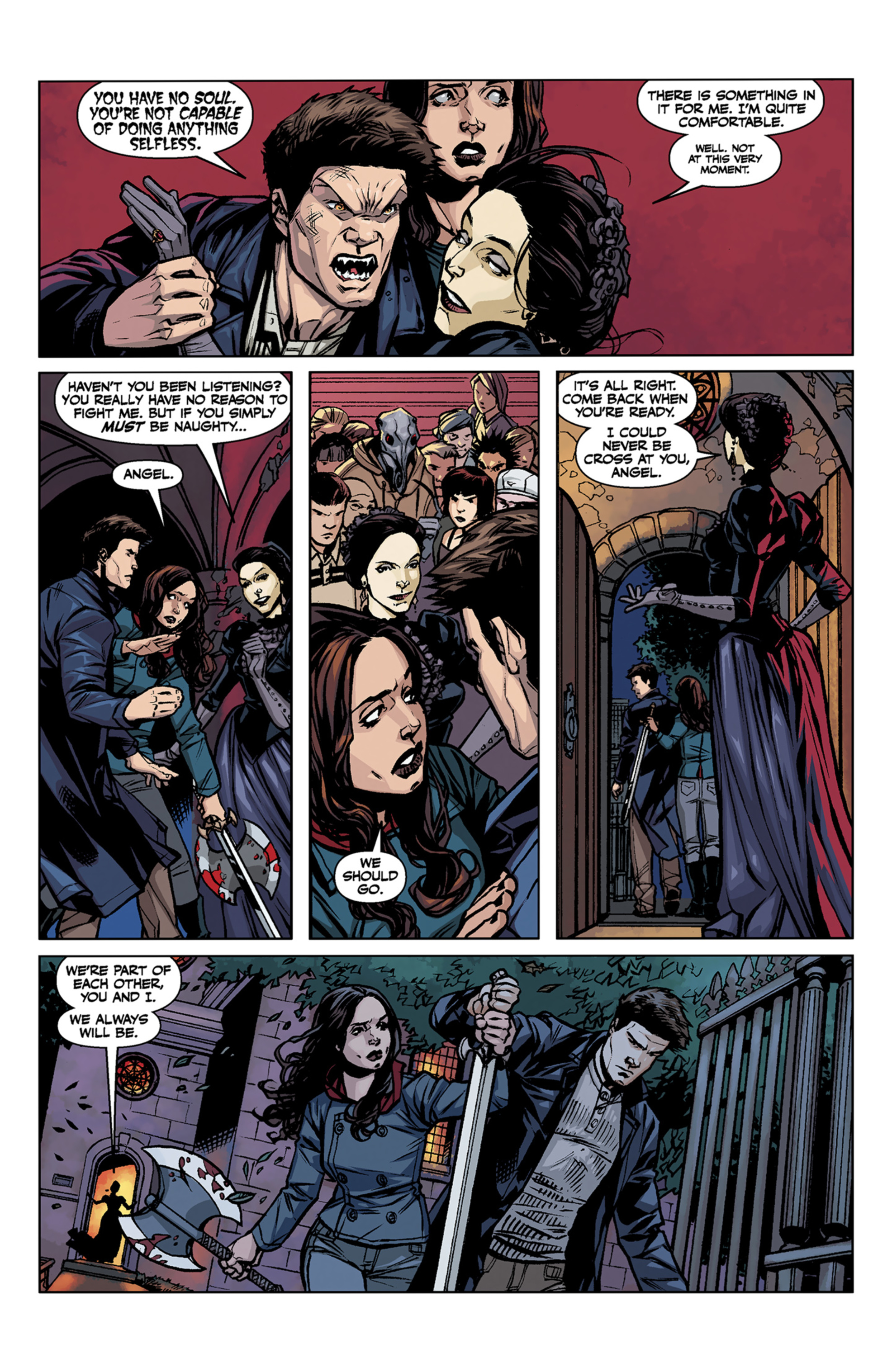 Read online Angel and Faith comic -  Issue #7 - 10