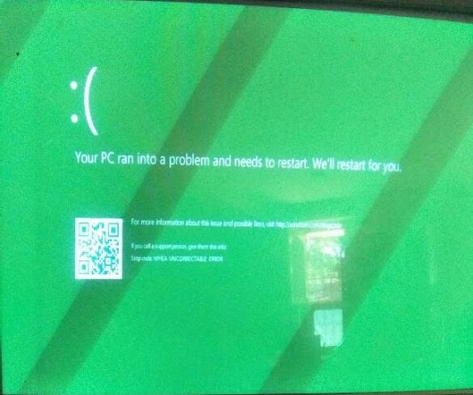 விண்டோஸ் 10 Windows 10 Installation error WHEA