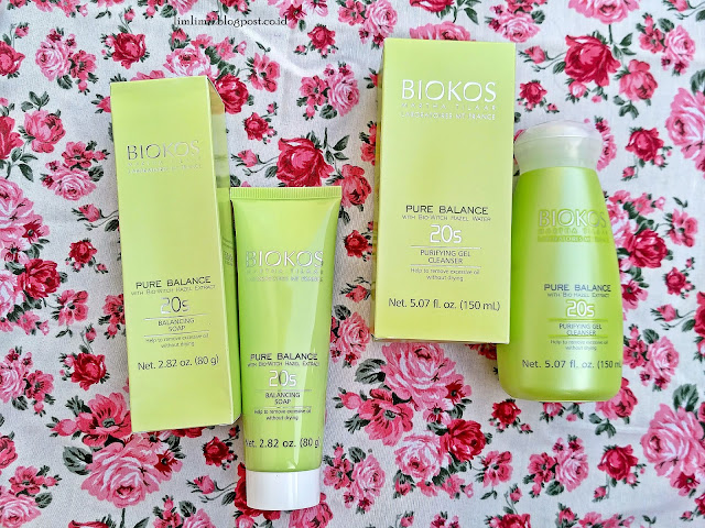 Biokos 20s Purifying Gel Cleanser dan Biokos 20s Balancing Soap.