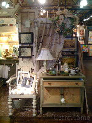 Retail display of vintage goods