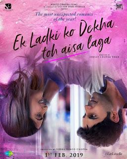 Ek Ladki Ko Dekha Toh Aisa Laga (ELKDTAL) First Look Poster