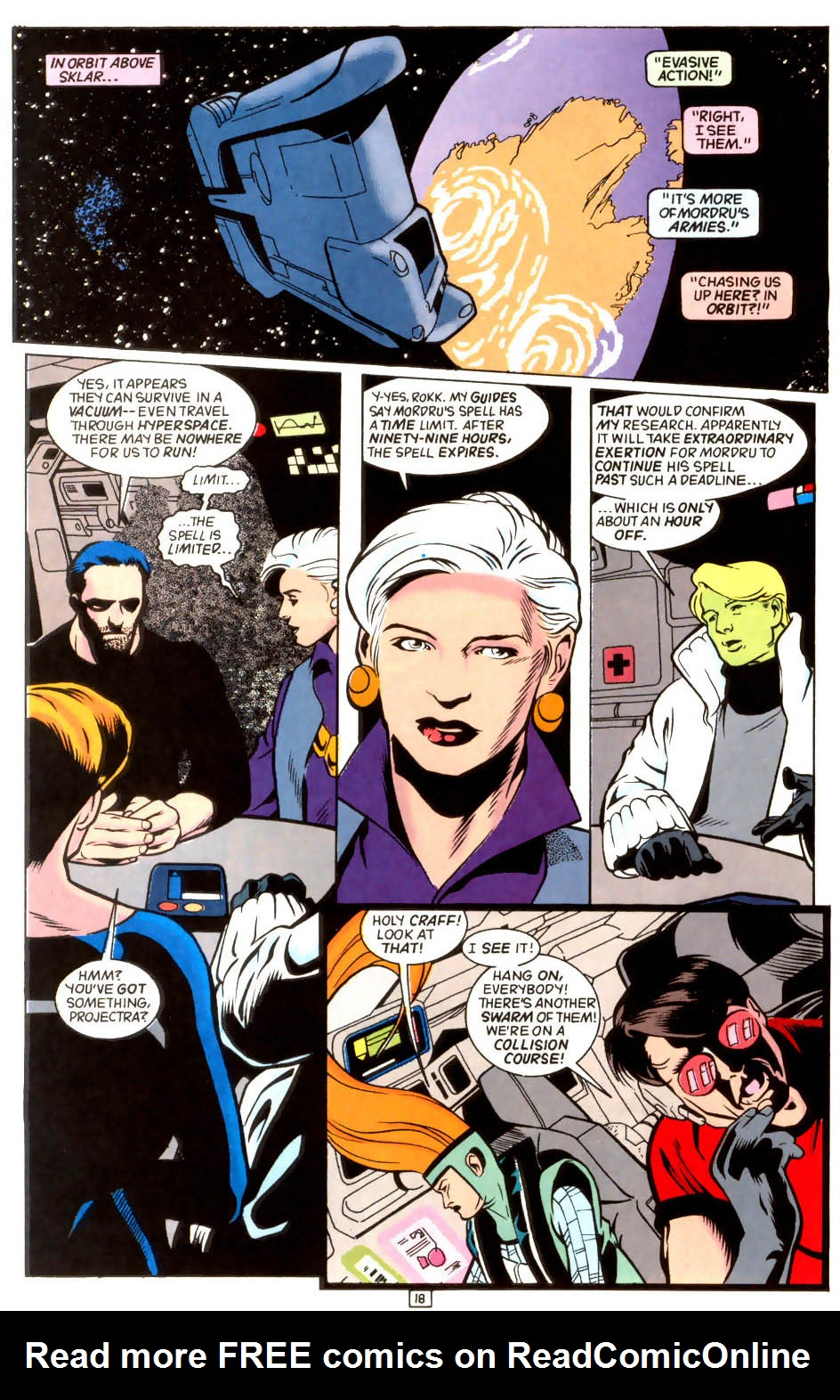Legion of Super-Heroes (1989) 45 Page 17
