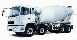 harga truk mixer
