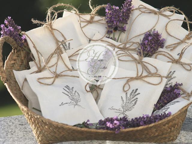 Lavendel Leinen