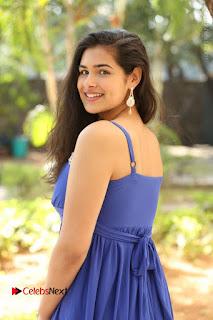 Actress Prasanna Stills in Blue Short Dress at Inkenti Nuvve Cheppu Movie Platinum Disc Function  0027.JPG