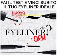 Logo Cosmopolitan e Pupa: fai il test e vinci subito 1.000 eyeliner Pupa