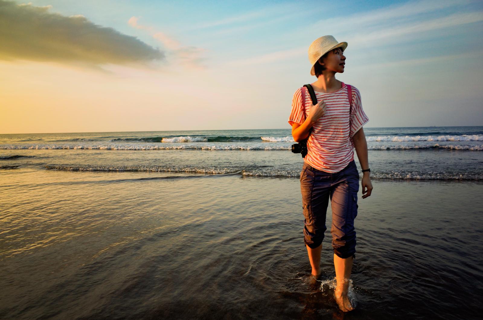 台北風景 · 白沙灣海水浴場 | 關於 Ricoh GR 的設定講解