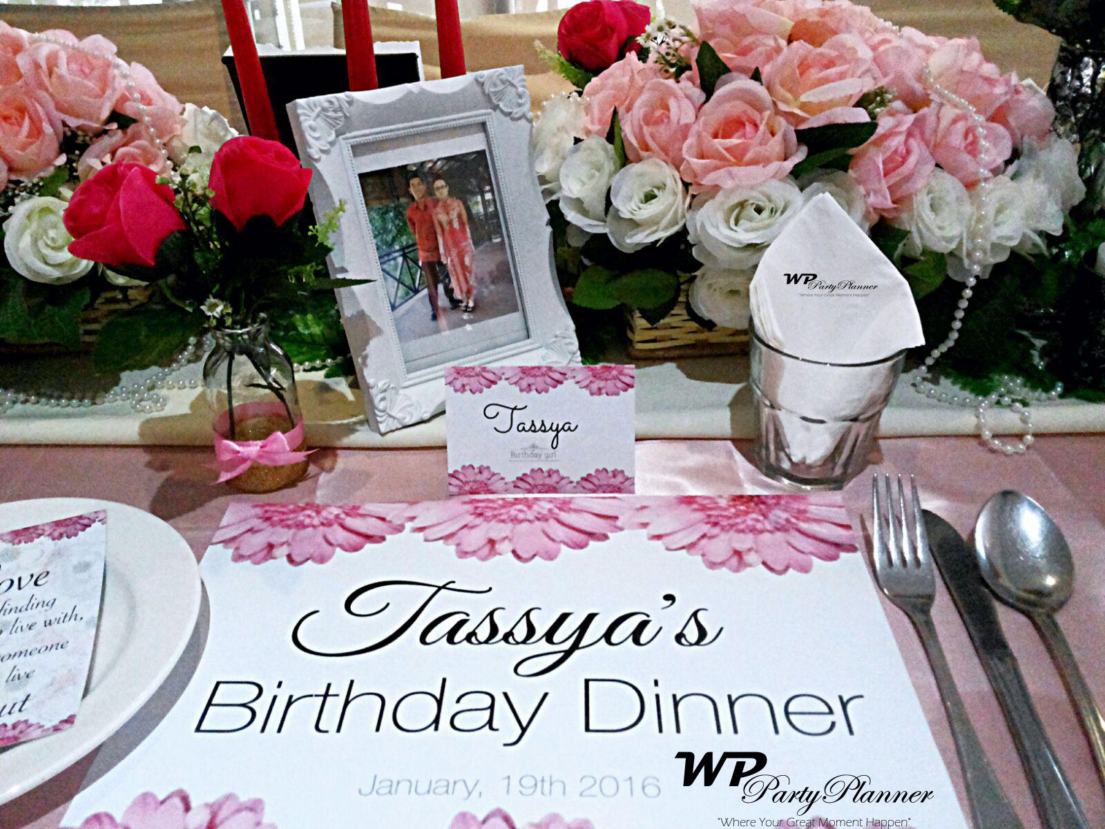 tassyas birthday dinner