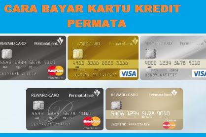 Cara Bayar Kartu Kredit Permata Via atm BCA, Mandiri, BNI, BRI dan mBCA