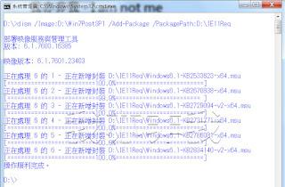 加入 IE11 必要的更新