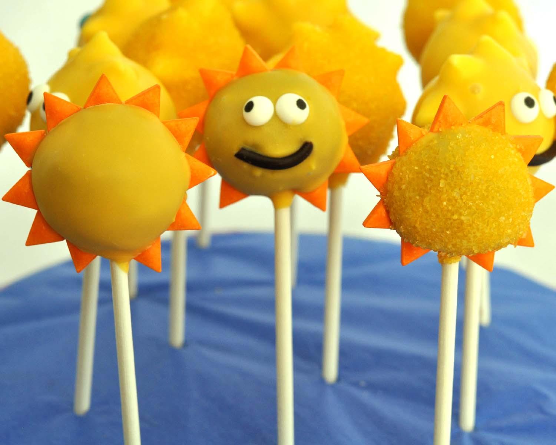 Summer Cake Pop Ideas