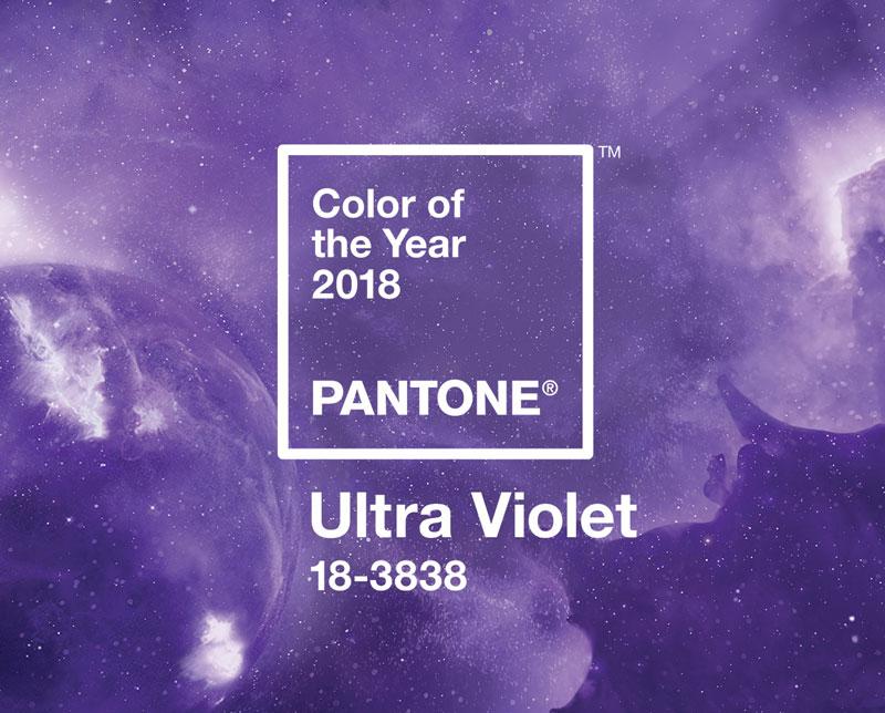 Color pantone del año 2018 Ultra violet