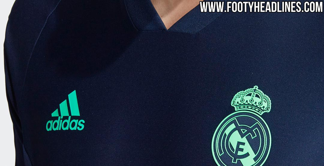 d7129c70974 Adidas Real Madrid 19-20 Champions League Training Kit Leaked - Third Kit  Confirmed