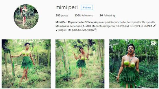 Mimi Peri Mengaku Turun dari Kayangan, Sosok Pria Yang Viral di MedSos