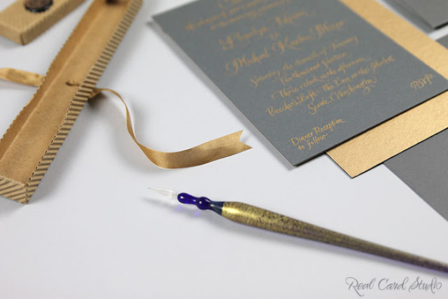 Real Card Studio Hand Written Invitations For An Intimate