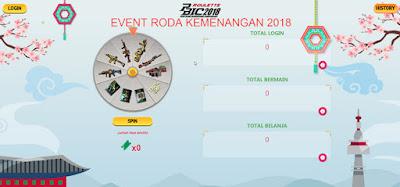 Event PB Garena Indonesia Roda Kemenangan 2018