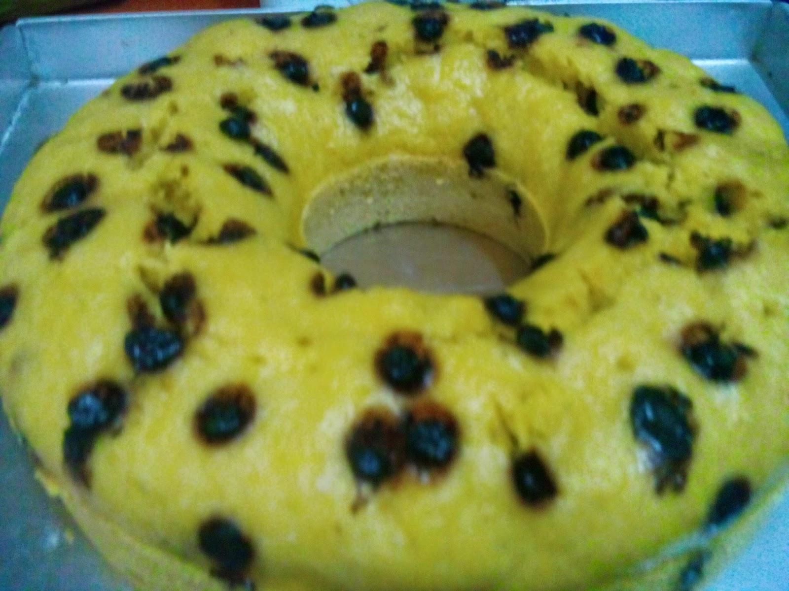 Resep cake pisang sederhana dan praktis