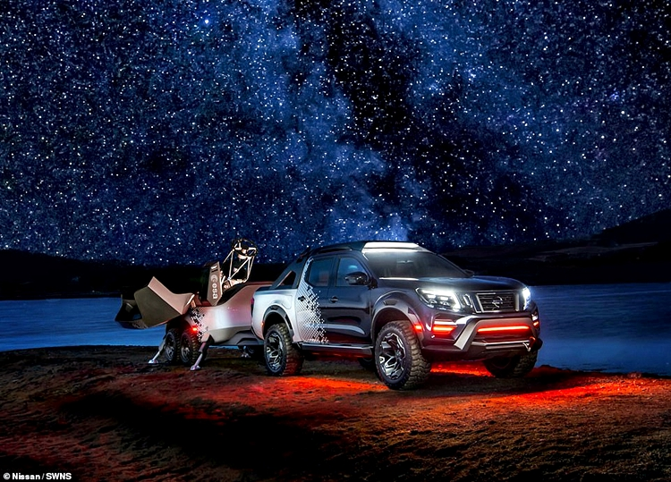 Nissan Transformed A Pick-up Truck Into A World Class Mobile Space Observatory