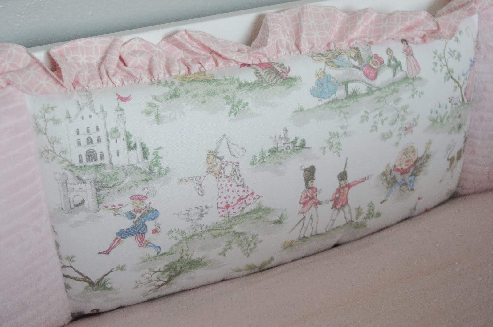 Nursery Rhyme Toile I Ve Always Loved And Grew Up Loving Rhymes Reading So Fell In Love With This Bedding