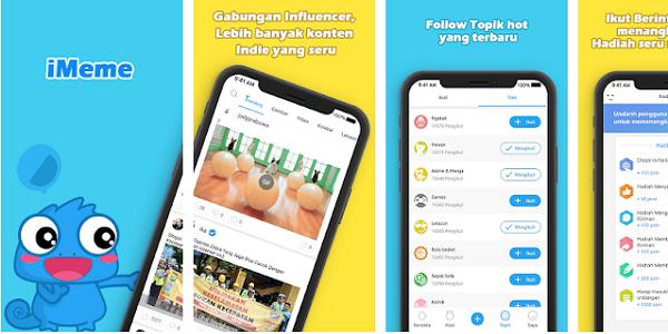 iMeme : Cara Mendapatkan Pulsa Gratis Terbaru dari Aplikasi iMeme Android