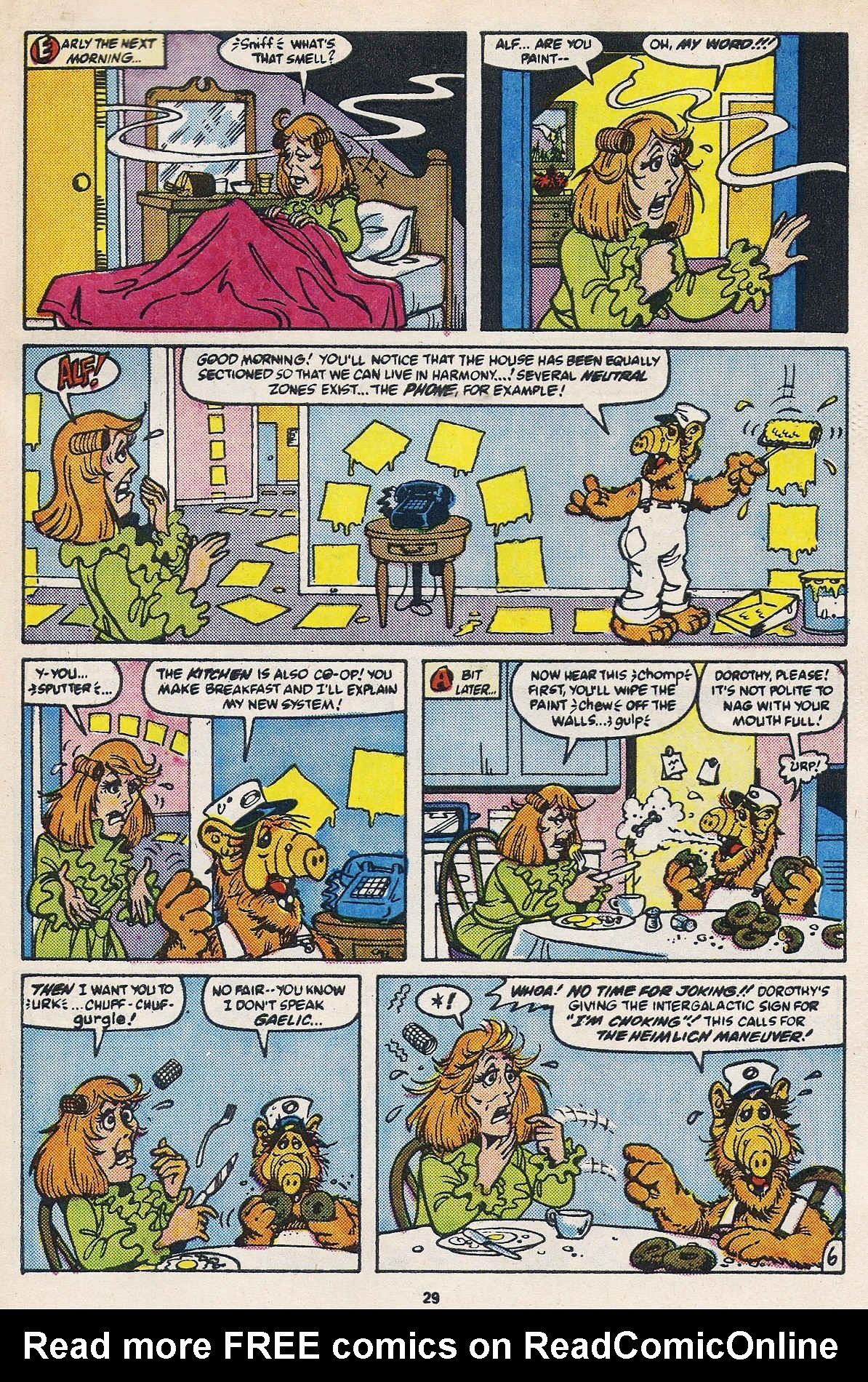 Read online ALF comic -  Issue #16 - 31