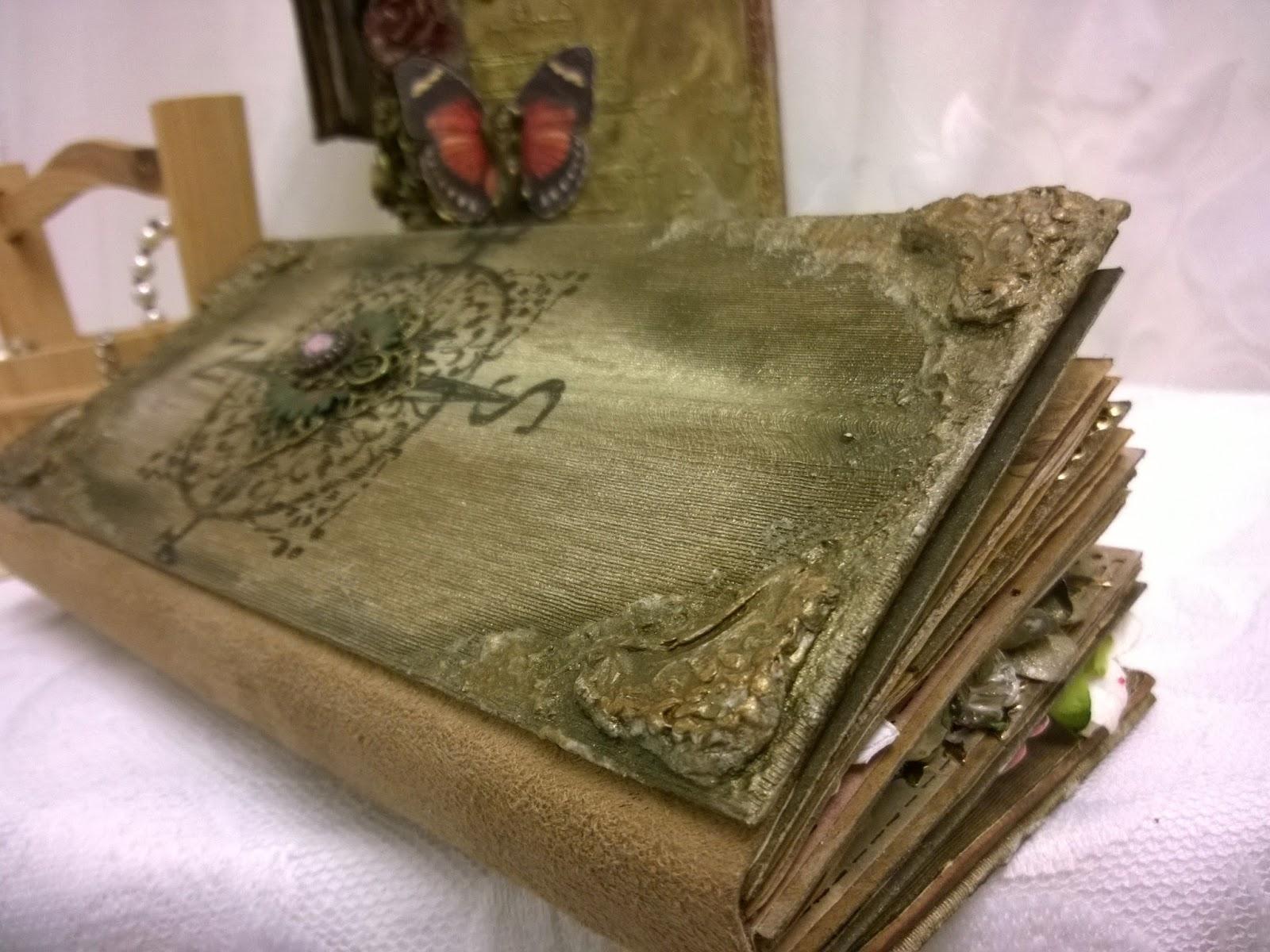 Meg\'s Garden: Vintage negative dies journal \